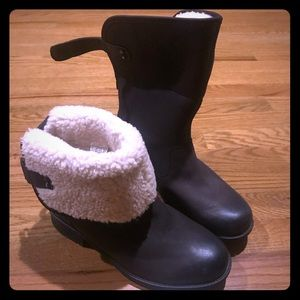 UGG Aldon fold down  boot chocolate brown 9.5